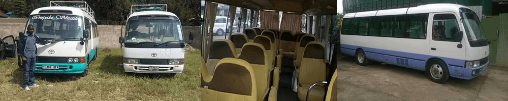 Shuttles Arusha Moshi Nairobi